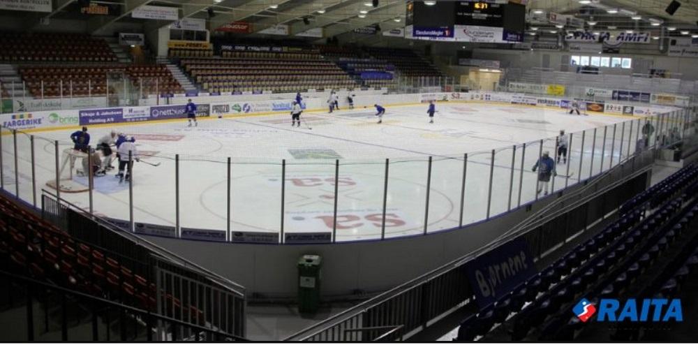 Vybavení a zařízení pro zimní stadiony, rolby, mobilní kluziště, mantinely a hokejové branky