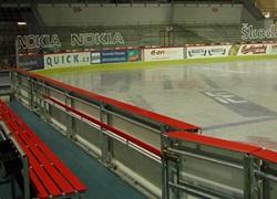 Moderní zimní stadion a mobilní kluziště
