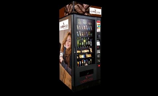Svačinové automaty, prodej, pronájem a servis