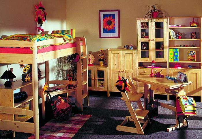 Dětský pokoj s palandou-nábytek Linea