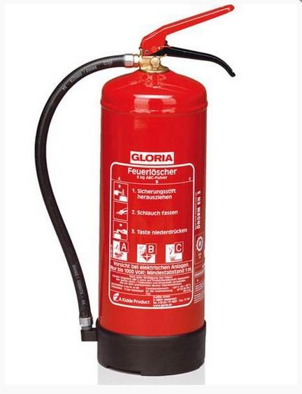 práškový hasící přístroj pro kolaudace domu - PG6kg 34A