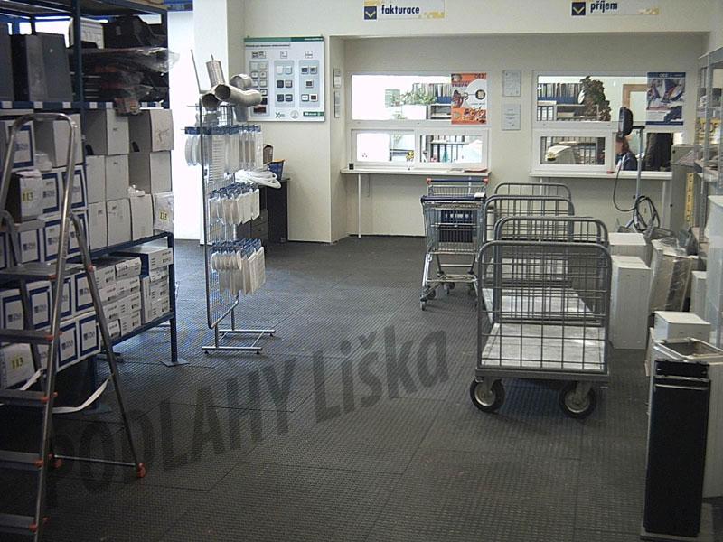 Dodávka a montáž zátěžových podlah