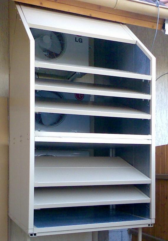 Odhlučnění tepelného čerpadla nebo klimatizace