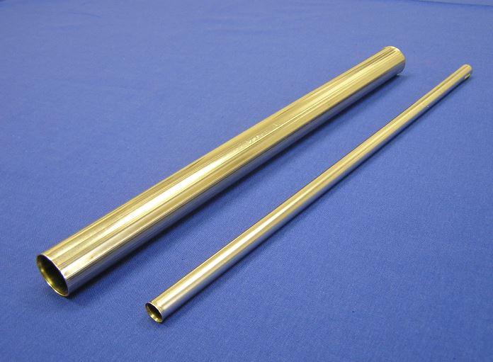 Nerezové tenkostěnné trubky s podélným švem pro výrobu vlnovců - výroba a prodej