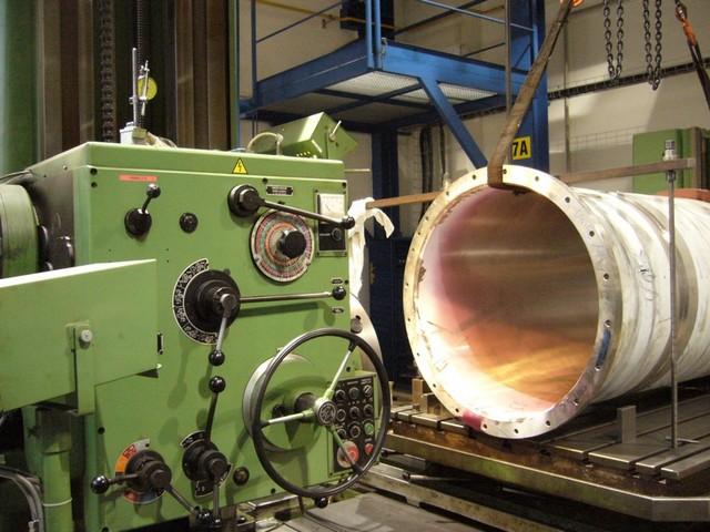 Špičkové strojní vybavení - Horizontální vyvrtávačka