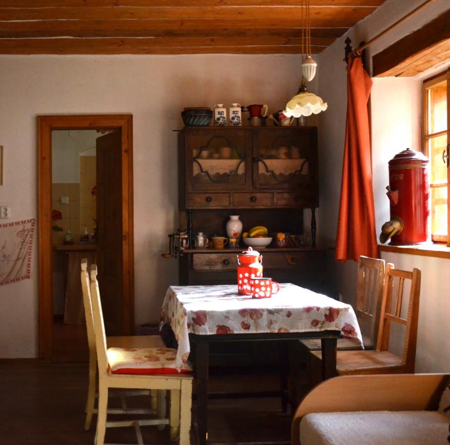 Prázdniny jako u babičky strávené v selském stavení, ubytování Slavonice