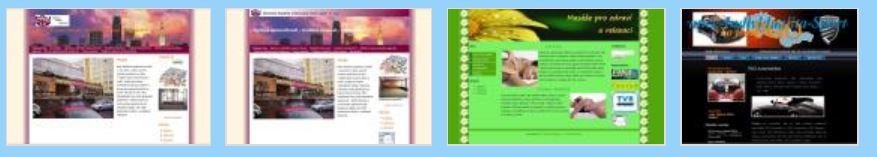 Výroba a další služby k www stránkám