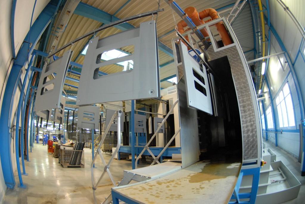 Plynové a elektrické pece, linky pro předpovrchovou úpravu