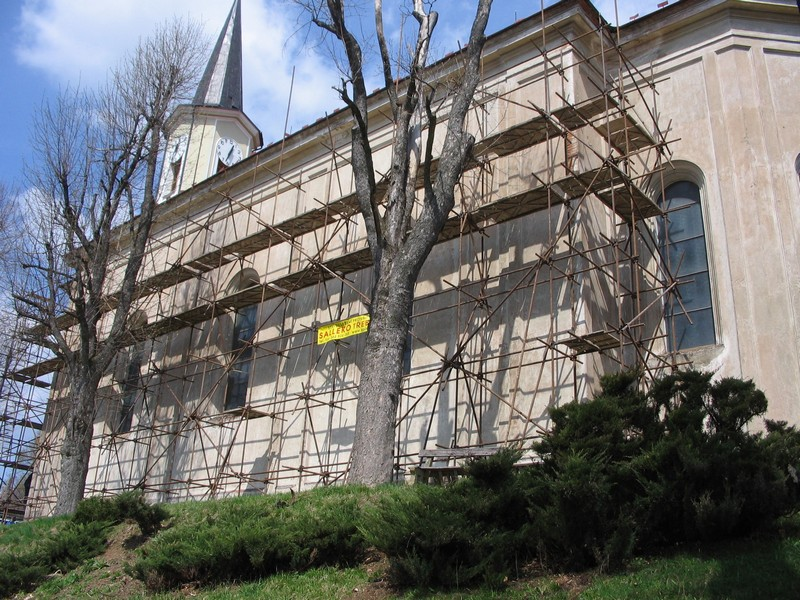 Pronájem a prodej lešení, stavební činnost, Třebíč, Vysočina