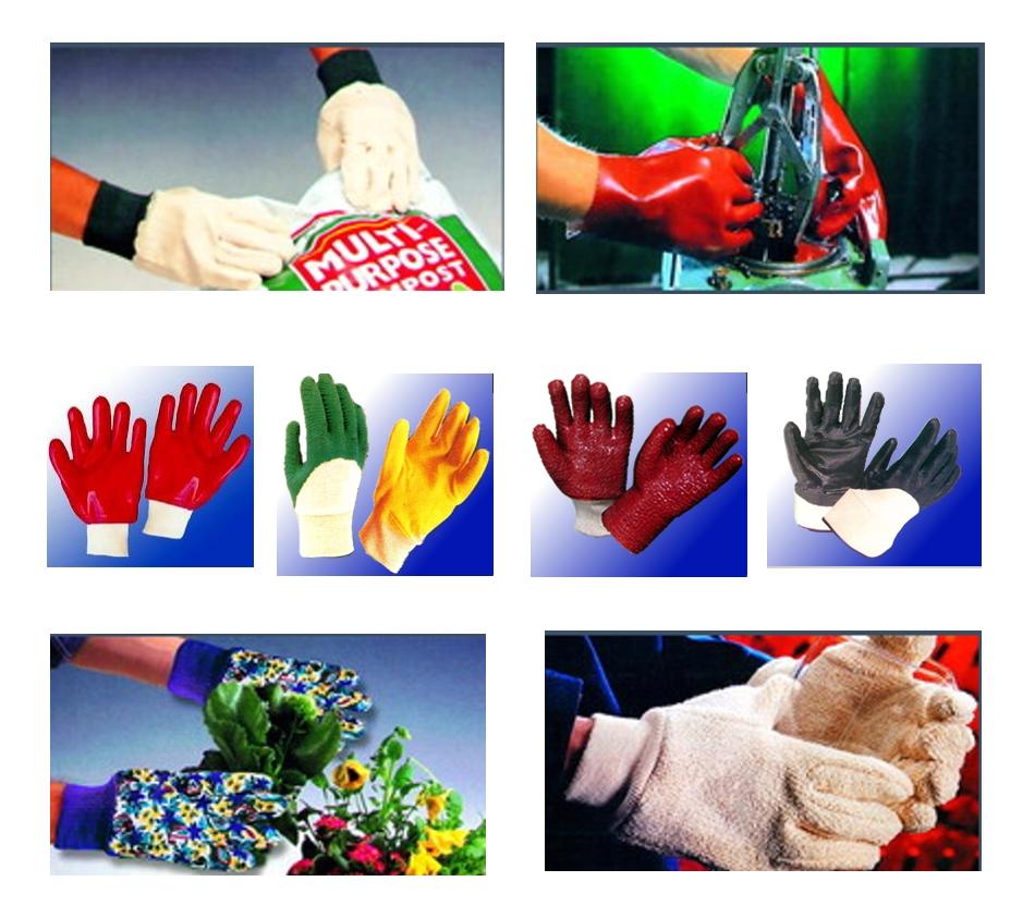 PÁKISTÁN; Pracovní rukavice