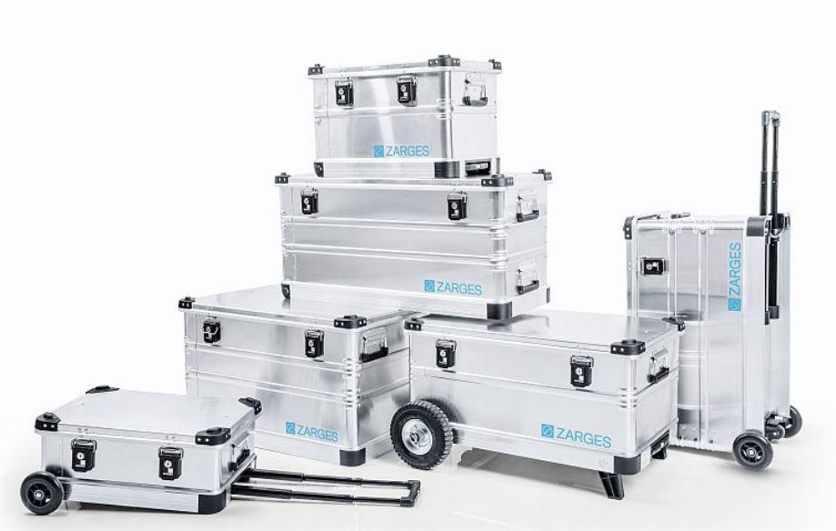 Hliníkové přepravní bedny - mobilní, stabilní a nezničitelné