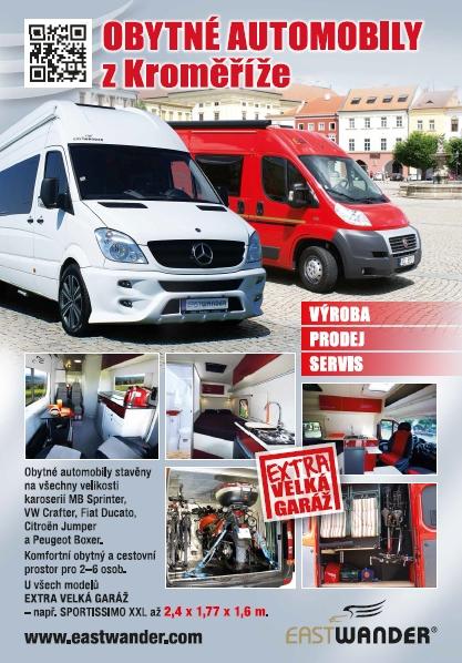 Vstavby do obytných automobilov - obytné vstavby na zákazku ČR, Česká republika