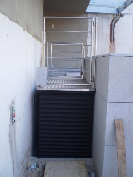Hydraulická nůžková plošina na terasy - bezplatný návrh řešení