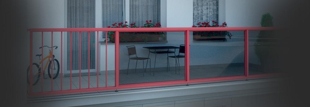 Zábradlí na balkon či lodžii - montáž Praha – bezpečné, odolné, hezké