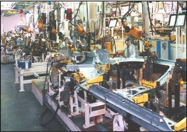 Automobilový průmysl - výroba strojů