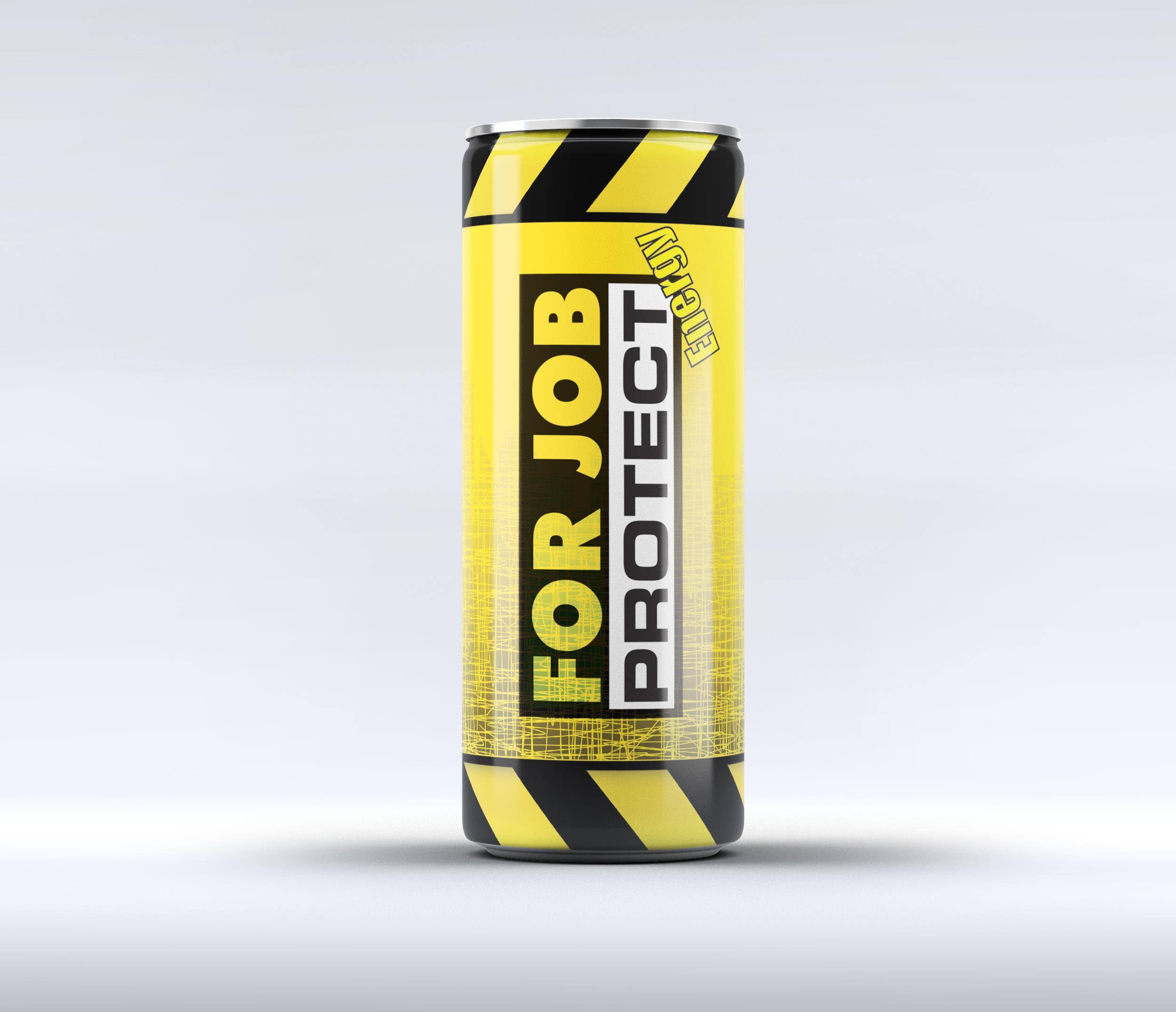 originální design na energy drinky