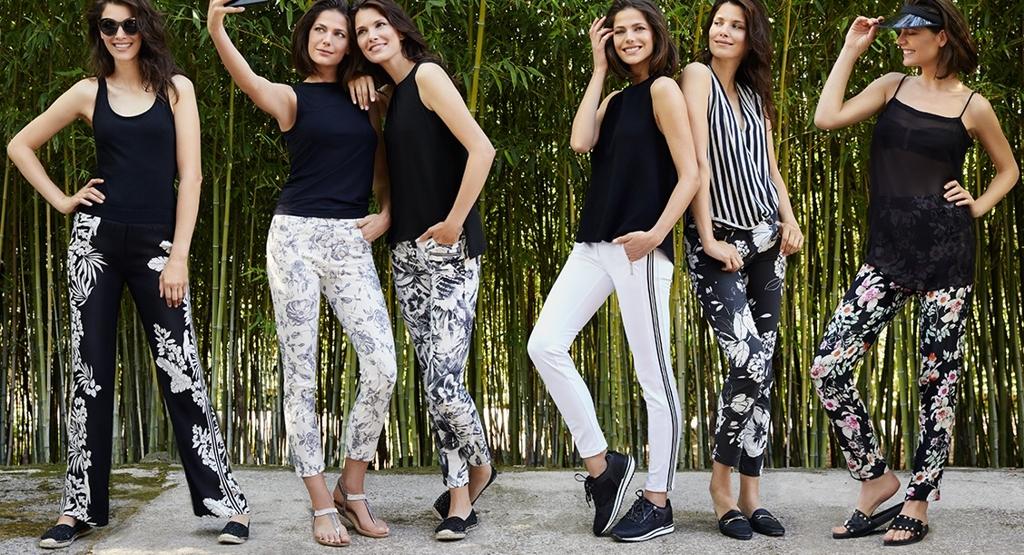 Dámské pohodlné a kvalitní kalhoty Zerres - nová kolekce 2018