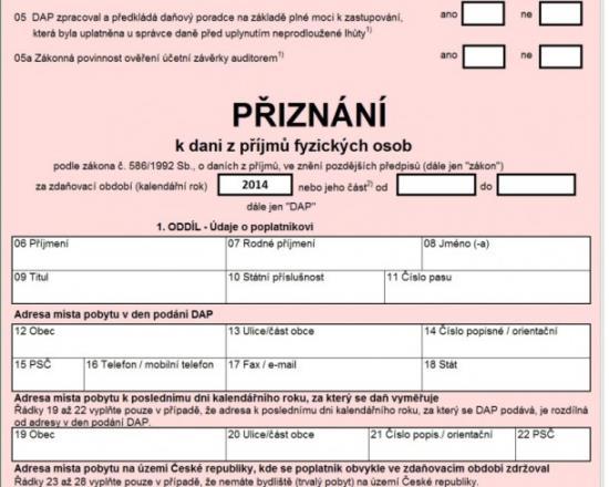 Zajištění auditu účetních závěrek Praha