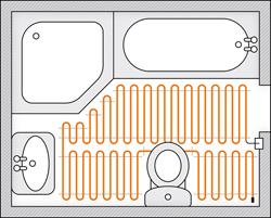 Topné rohože - prodej a montáž Most – nízká spotřeba a minimální konstrukční výška