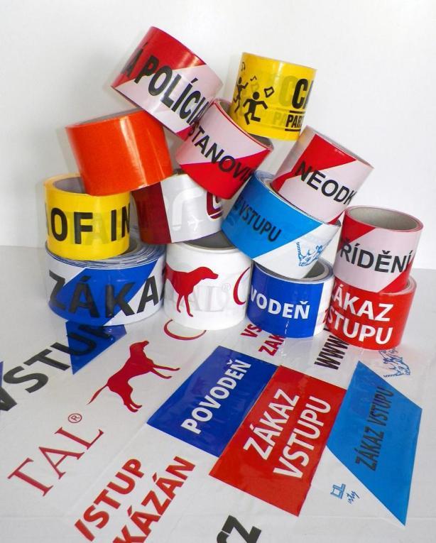 Opatřete lepící páskou reklamou či logem Vaší firmy!