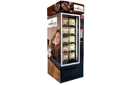Prodej a pronájem automatů na teplé nápoje a jídlo, svačiny, obědy, ale i kávovary