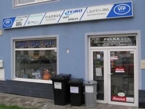 Prodejna instalačního materiálu - Staré Město u Uherského Hradiště