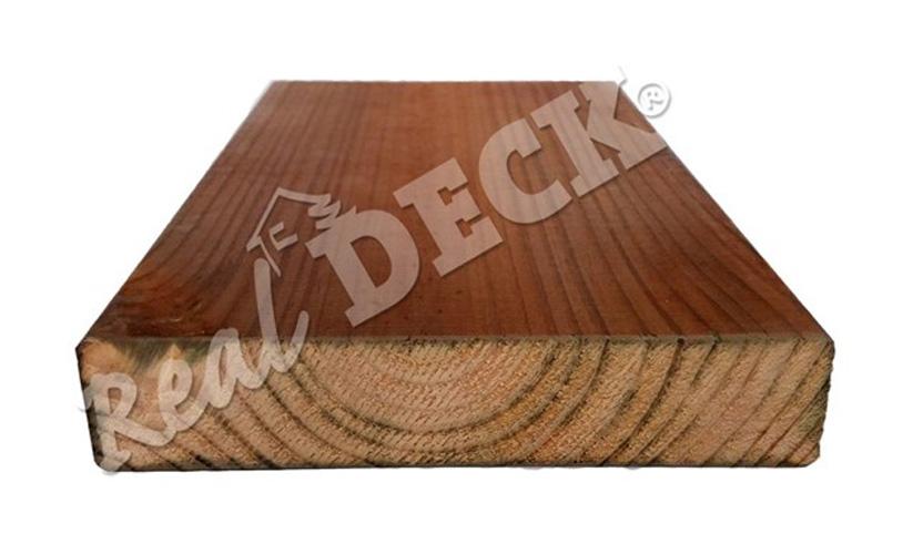 Dřevěné terasy Real Deck dřevo z hnědé borovice