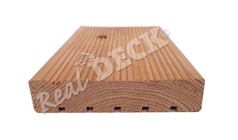 Dřevěné terasy Real Deck dřevo z modřínu