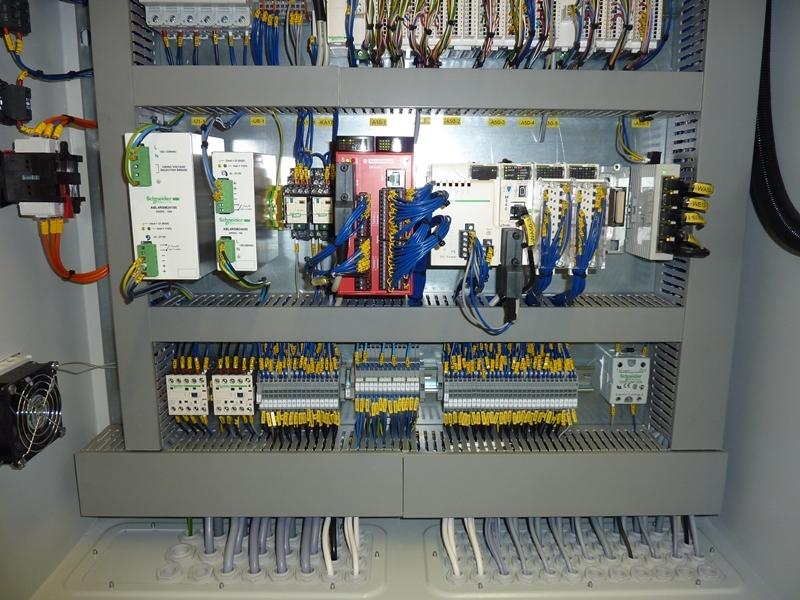 Elektrotechnika do technologických celků, vývoj, projekce, výroba