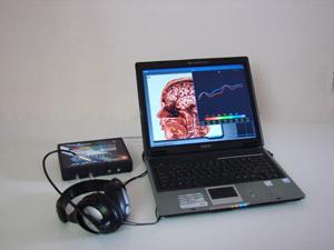 biorezonanční zařízení Oberon pro analýzu těla