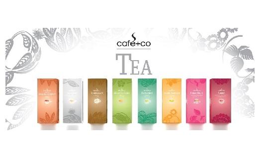 Prodej porcovaného čaje CAFE+CO TEA, pro kanceláře, gastronomický provoz
