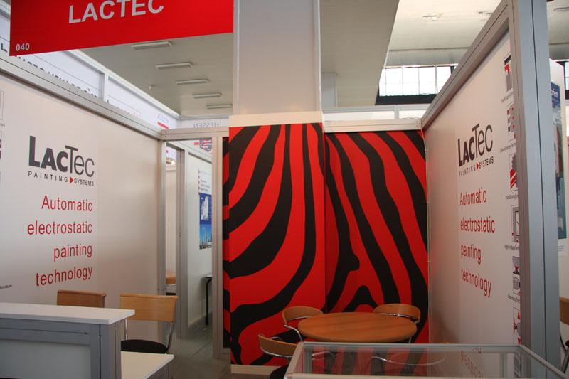 Realization and design of fair graphics - printing of exhibition stands Czech Republic