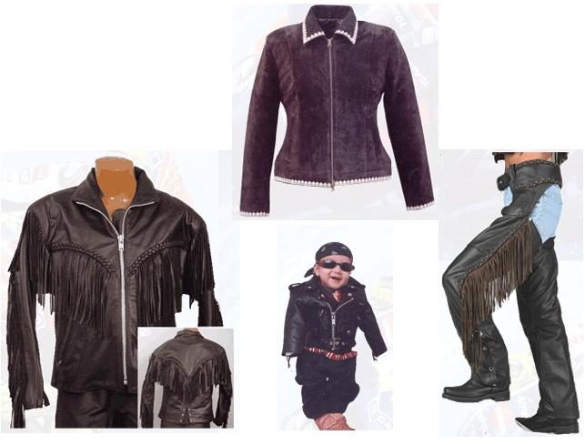 PÁKISTÁN; Kožené oděvy