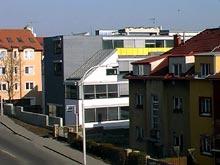 Stavby obchodní administrativní průmyslové objekty Pardubic