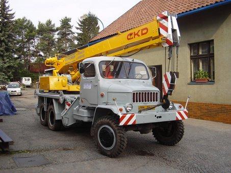 Autojeřáb, jeřábnické práce autojeřábem, Chrudim, Pardubice