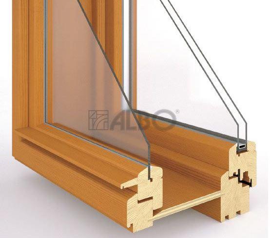 Dřevěná EURO okna - Albo
