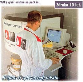 Prodej nátěrové hmoty fasádní barvy stavební chemie Pardubice