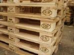 Dřevěné palety EUR, NOR i atypické