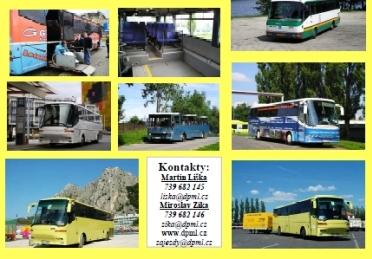 Autobusové spojení, pravidelná linka Liberec Praha, Praha Liberec