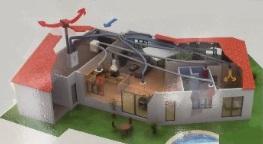 řízené větrání pro domy a byty