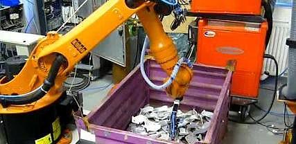 Robotické obrábění, návrh a dodání