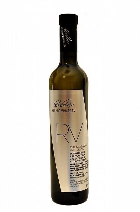 Ryzlink Vlašský - jakostní bílé víno
