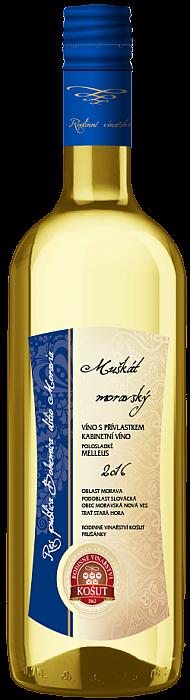 Muškát moravský - kabinetní víno