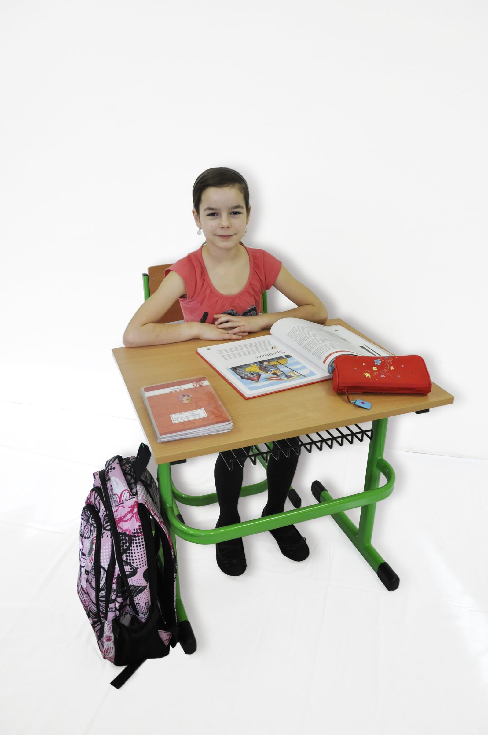 Stavitelná školní lavice - Terom
