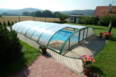 Zastřešovací systémy pro bazény Praha