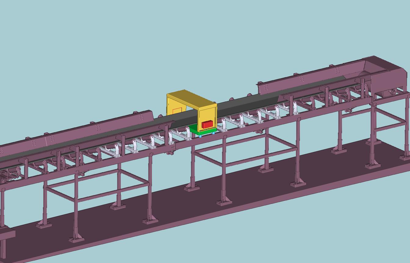 Průmyslové detektory kovů pro pásové dopravníky, potrubí - výroba, prodej, servis
