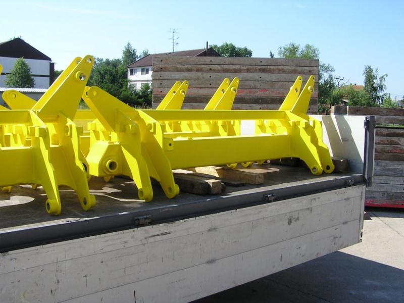 Vyrábíme a dodáváme součásti zemědělských strojů