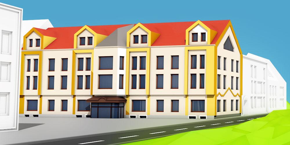 Pronájem bytových i nebytových prostor v Sokolově, byty a kanceláře