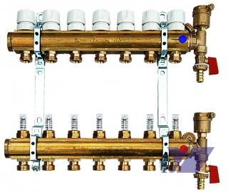 VODATEX OLOMOUC s.r.o., materiál pro vodo, topo, plyn, mosazné rozvaděče