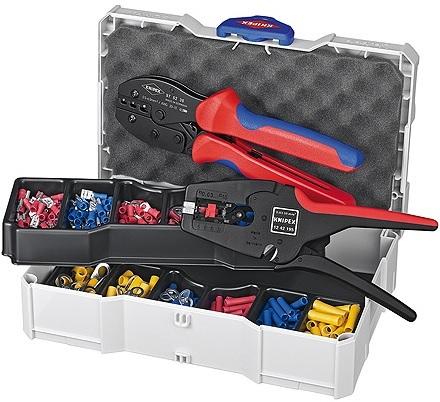 Prodej profesionální ruční - lisovací sortiment s lemovacími kleštěmi značky KNIPEX